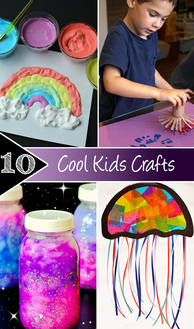 10 Cool Kids Crafts