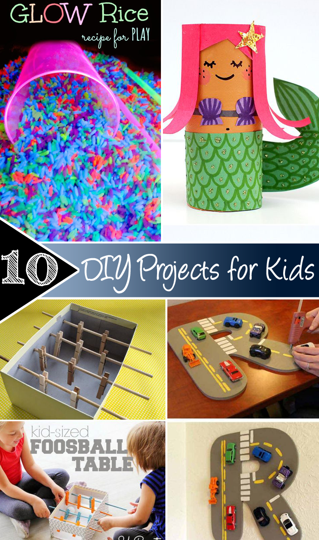 10 DIY Projects for Kids copy