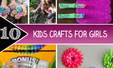 10 Kids Crafts for Girls