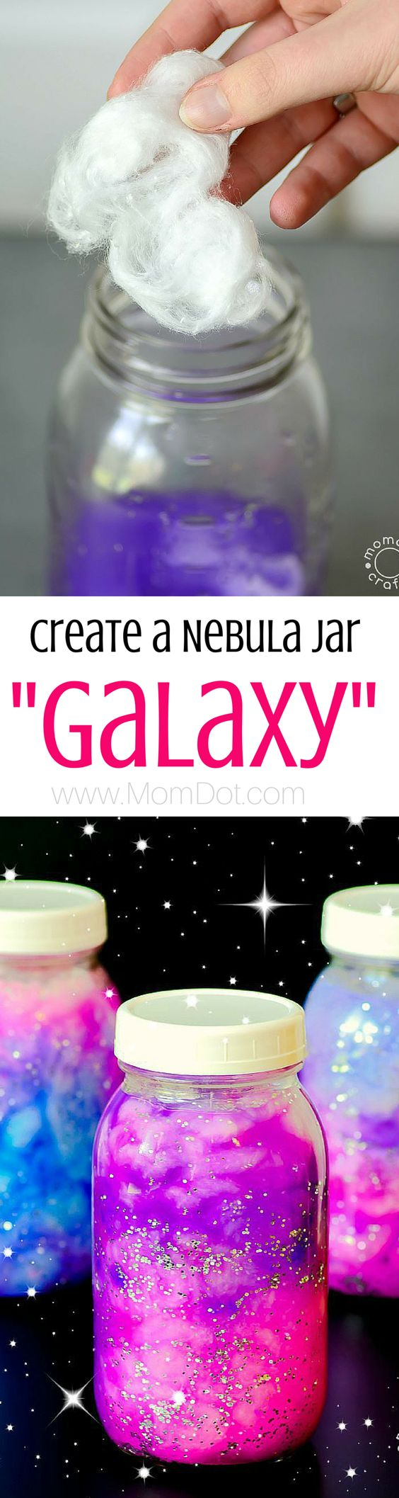 DIY Nebula Jar