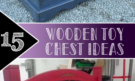 15 Wooden Toy Chest Ideas