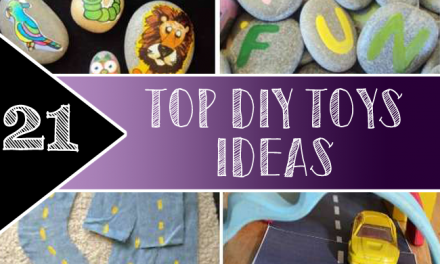 Top 21 DIY Toys Ideas