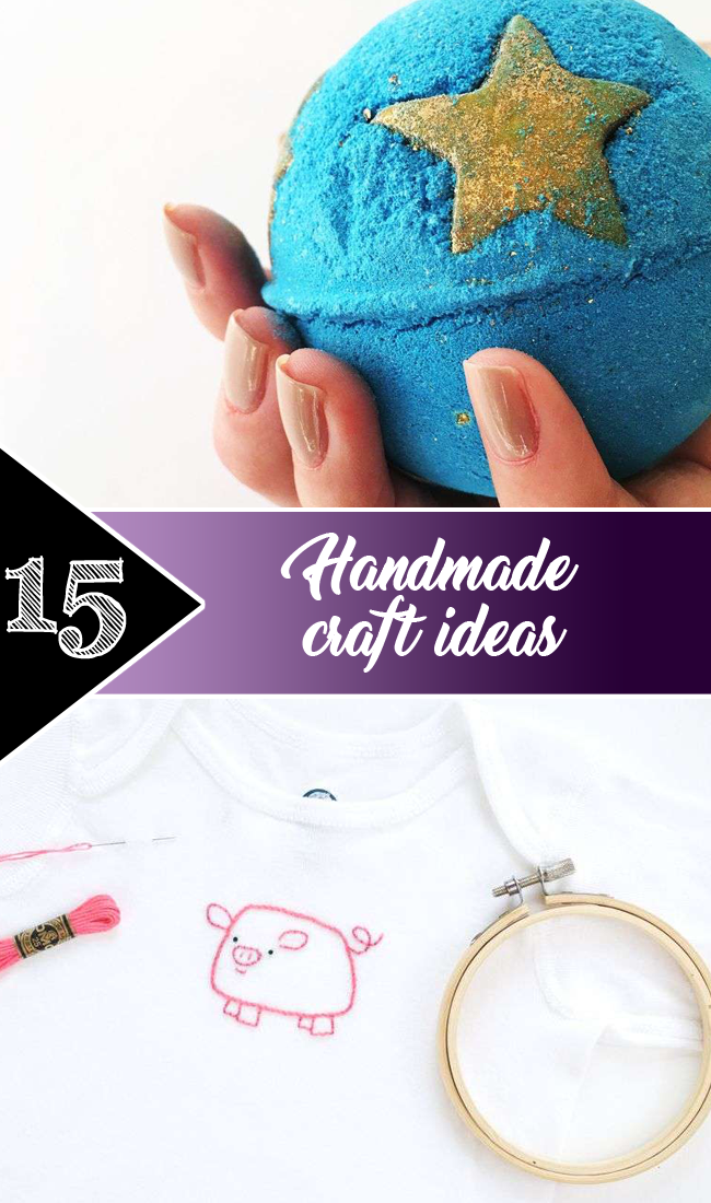 15 handmade craft ideas