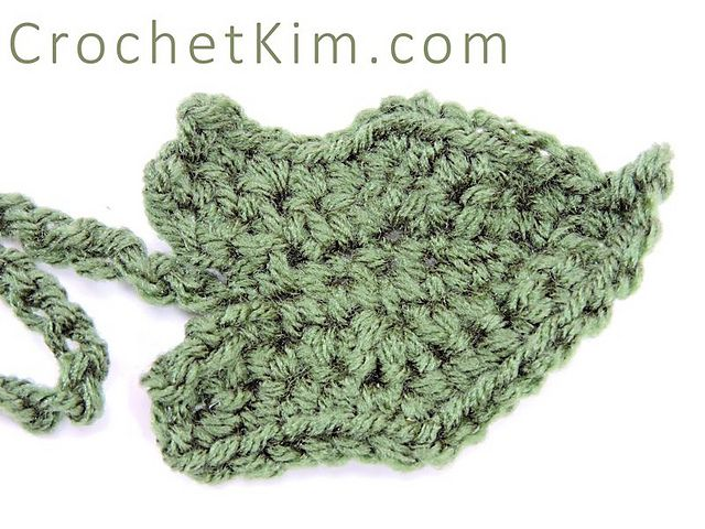 14 crochet leaf Ideas