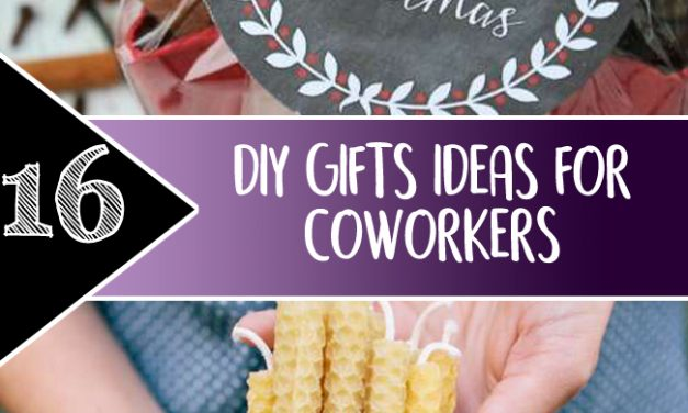 16 diy gifts ideas for coworkers