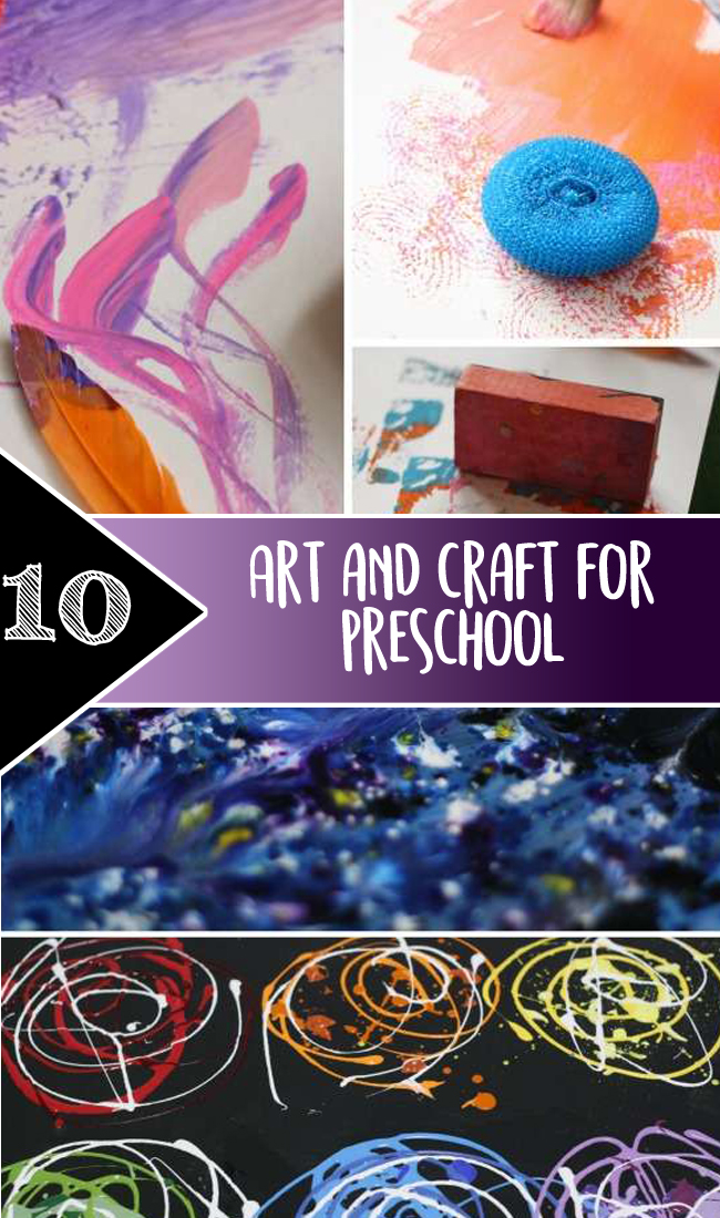 Art and craft for preschool