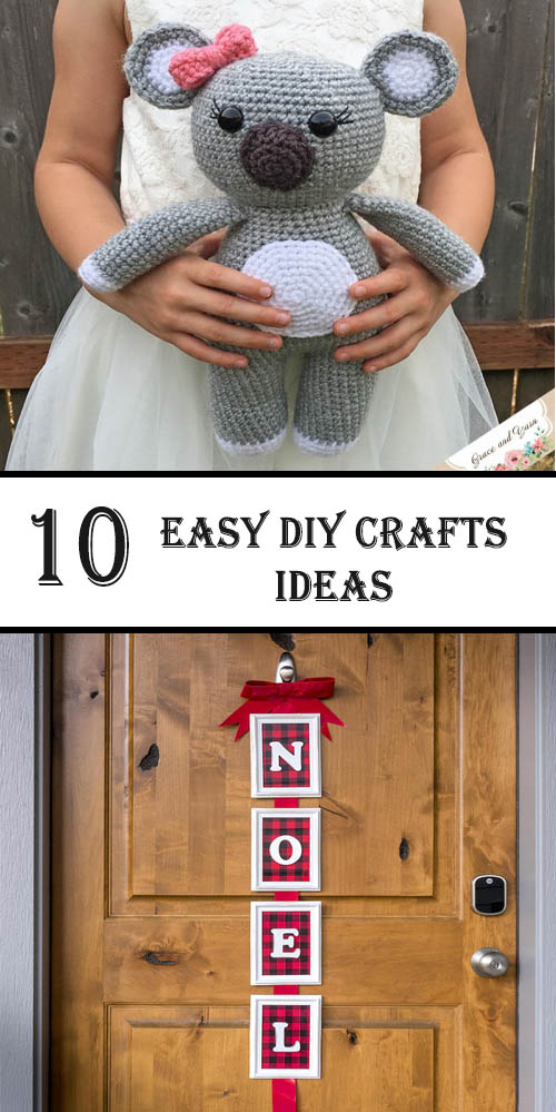 10 Easy Diy Crafts Ideas Kids Diys