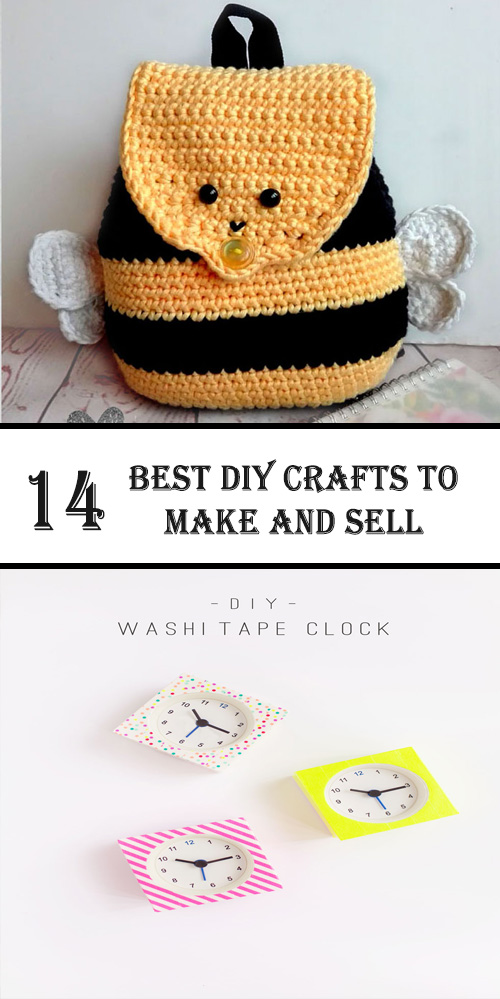 14 Best Diy Crafts To Make And Sell Kids Diys