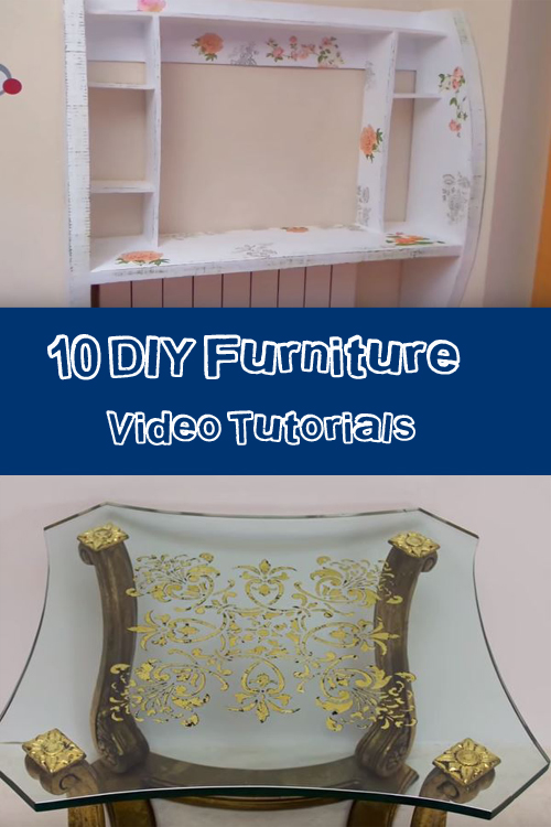10 DIY Furniture Video Tutorials